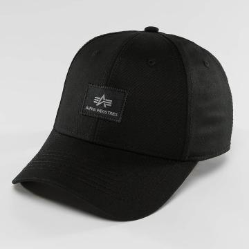 Alpha Industries Snapback Caps X-Fit II svart