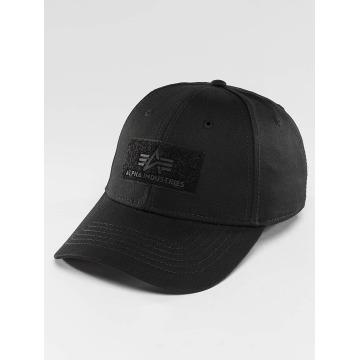 Alpha Industries Snapback Caps Velcro szary