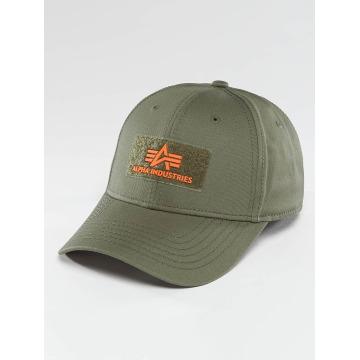 Alpha Industries Snapback Caps Velcro zielony