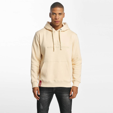 Alpha Industries Sweat capuche 3D beige