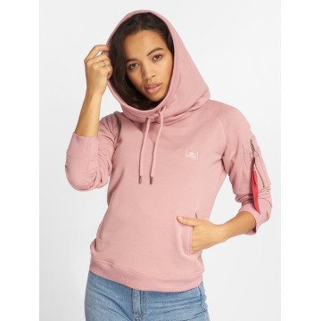 Alpha Industries Sweat capuche X-Fit magenta