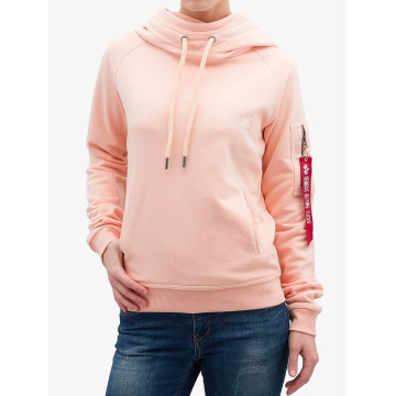 Alpha Industries Sweat capuche X-Fit orange