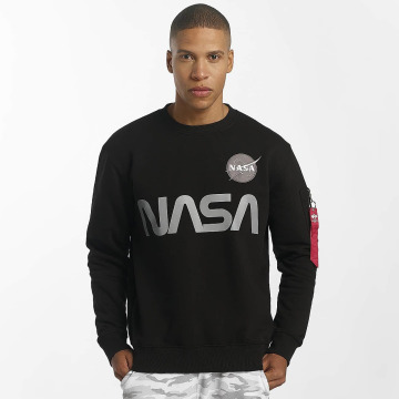 Alpha Industries Swetry NASA Reflective czarny