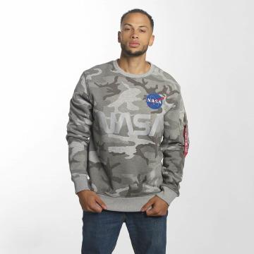 Alpha Industries Swetry NASA Reflective moro