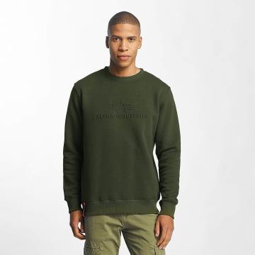 Alpha Industries Swetry 3D zielony