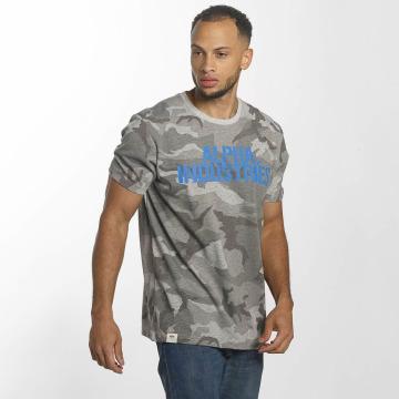 Alpha Industries T-paidat Blurred harmaa