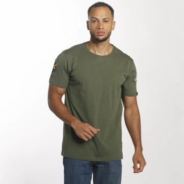 Alpha Industries t-shirt NASA olijfgroen