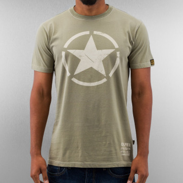 Alpha Industries T-Shirt Star olive