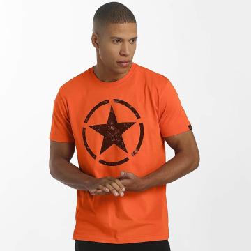 Alpha Industries t-shirt Star oranje