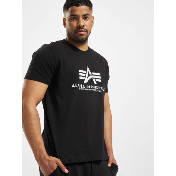 Alpha Industries T-Shirt Basic schwarz