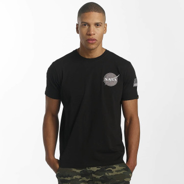 Alpha Industries T-Shirt Space Shuttle T schwarz