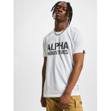 Alpha Industries T-Shirt Camo Print weiß
