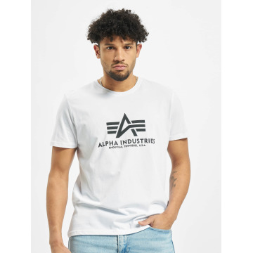 Alpha Industries T-Shirt Basic weiß