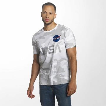 Alpha Industries T-Shirty NASA Reflective moro
