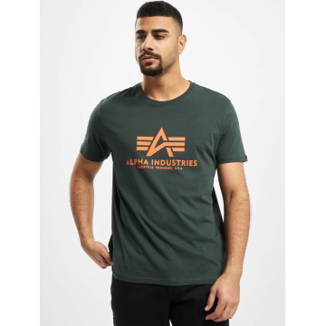 Alpha Industries T-skjorter Basic grøn