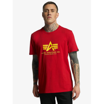 Alpha Industries T-skjorter Basic red