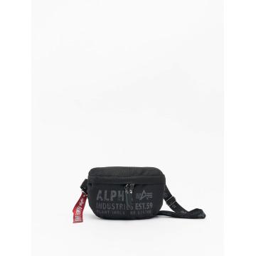 Alpha Industries tas Cargo Oxford Waist Bag zwart