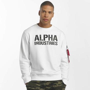 Alpha Industries Tröja Camo Print vit