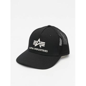 Alpha Industries trucker cap Basic zwart