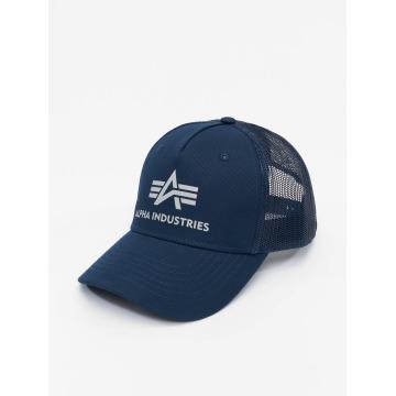 Alpha Industries Trucker Caps Basic niebieski