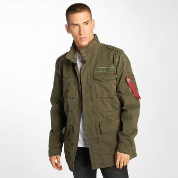 Alpha Industries Übergangsjacke Huntington olive