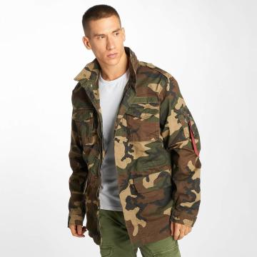 Alpha Industries Välikausitakit Huntington camouflage