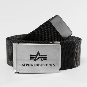 Alpha Industries Vyöt Big A musta