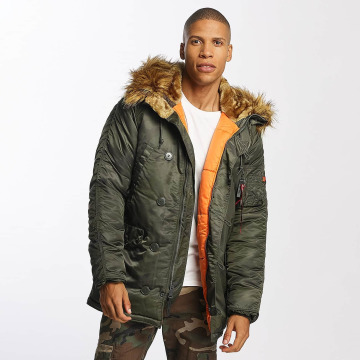 Alpha Industries winterjas N3B VF 59 camouflage