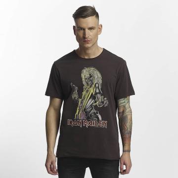 Amplified T-paidat Iron Maiden Killer harmaa