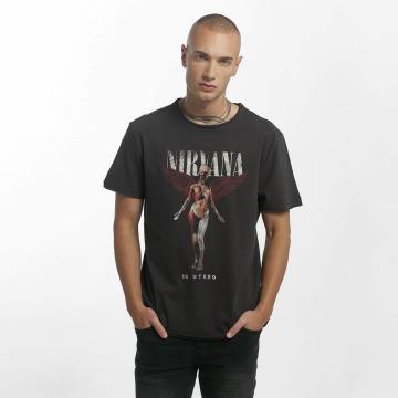 Amplified T-paidat Nirvana In Utero harmaa