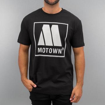 Amplified T-paidat Motown Logo musta