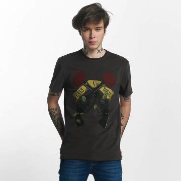 Amplified T-Shirt Guns N Roses Shooting Roses grau