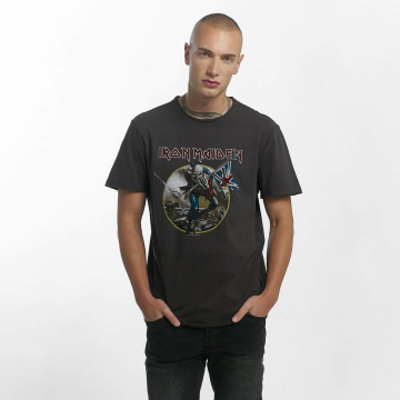 Amplified T-Shirt Iron Maiden Trooper grau