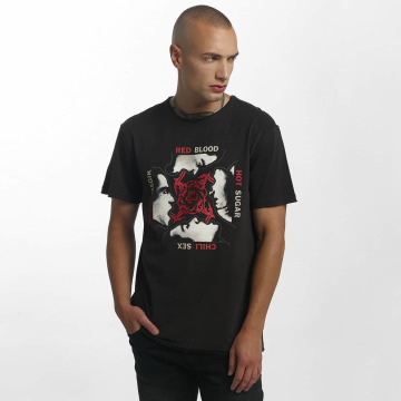 Amplified T-Shirt Red Hot Chilli Peppers Blood, Sugar, Magic grau