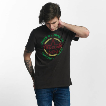 Amplified T-Shirt The Clash Guns Of Brixton Tour gris