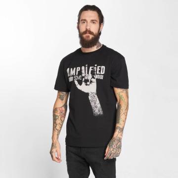 Amplified T-Shirt Devil Horns noir