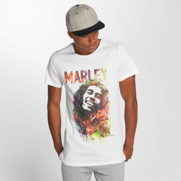 Amplified T-Shirt Bob Marley Water Color weiß