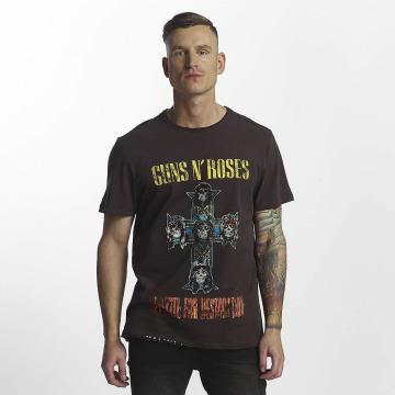 Amplified T-shirts Guns & Roses Appetite For Destruction grå