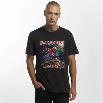 Amplified T-skjorter Iron Maiden Run To The Hills grå
