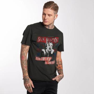 Amplified T-skjorter Sex Pistols Anarchie grå