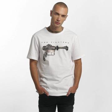 Amplified T-skjorter Foo Fighters Ray Gun hvit