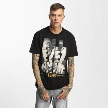 Amplified T-skjorter Tupac - All Eyes On Me svart