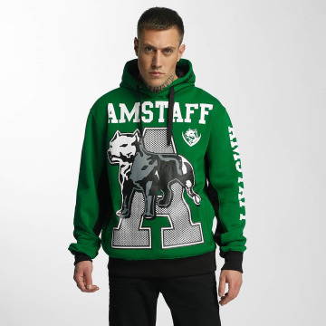 Amstaff Hoodie Aldor grön