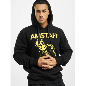 Amstaff Hoody Logo zwart