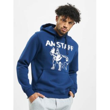 Amstaff Mikiny Logo modrá
