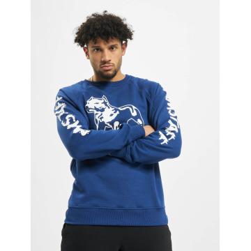 Amstaff Pullover Logo blau