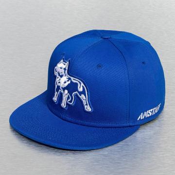 Amstaff snapback cap Timus blauw