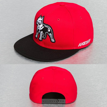 Amstaff Snapback Caps Timus red