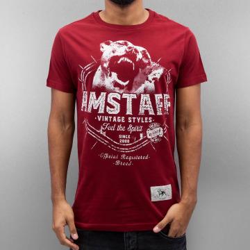 Amstaff T-paidat Neres punainen