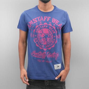 Amstaff T-Shirt Dorano blau